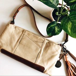 WILL LEATHER GOODS • adjustable crossbody purse